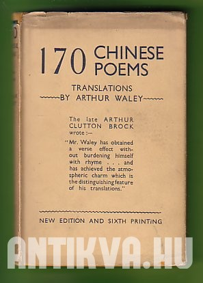 One Hundred & Seventy Chinese Poems