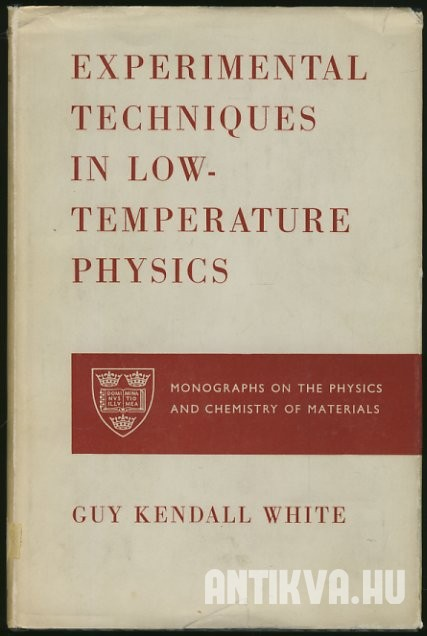 Experimental Techniques in Low-Temperature Physics