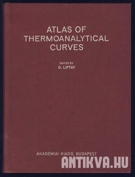 Atlas of Thermoanalytical Curves. (TG-, DTG-, DTA-Curves Measured Simultaneously)