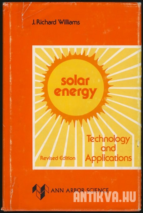 Solar energy. Technology and Applications