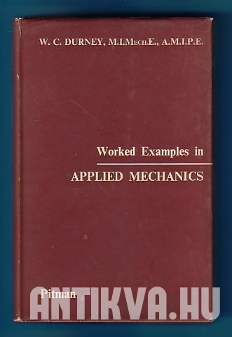 Worked Examples in Applied Mechanics