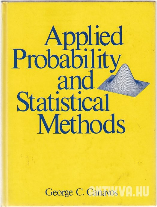 Applied Probability and Statistical Methods