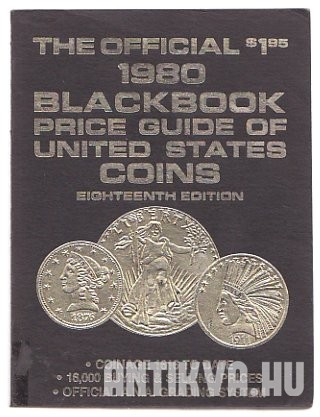 The Offical 1980 Blackbook Price Guide of United States Coins
