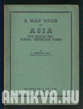 A Map Book of Asia for Middle and School Certificate Forms