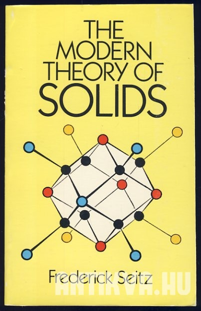 The Modern Theory of Solids