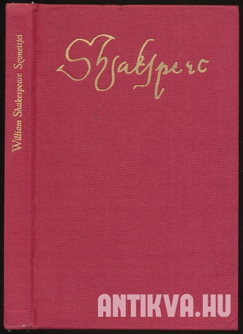 William Shakespeare szonettjei