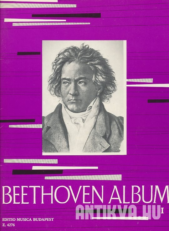 Beethoven album I. Für Klavier. For Piano. Zongorára