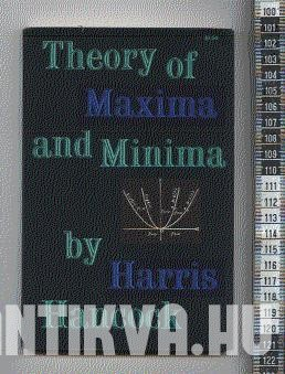 Theory of maxima and minima