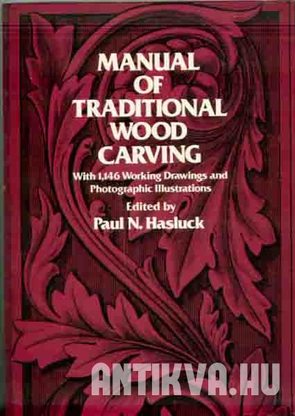 Manual of traditional wood carving.