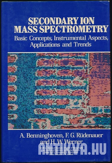 Secondary Ion Mass Spectrometry. Basic Concepts, Instrumental Aspects, Applications and Trends