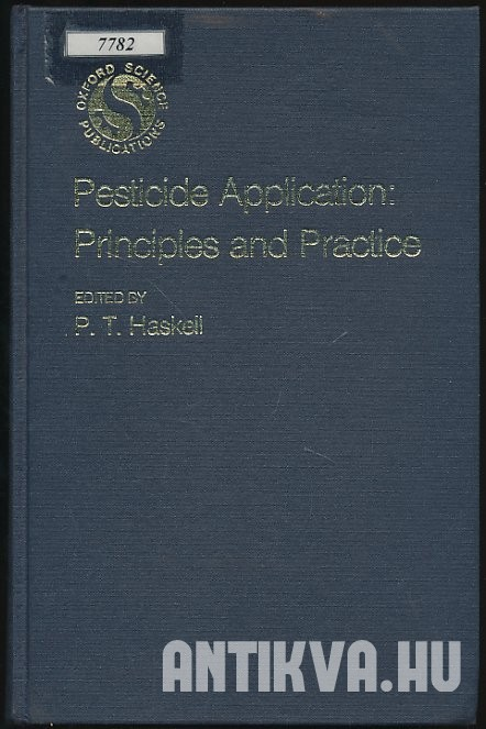 Pesticide Application: Principles and Practice