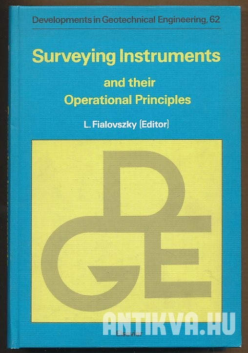 Surveying Instruments and their Operational Principles