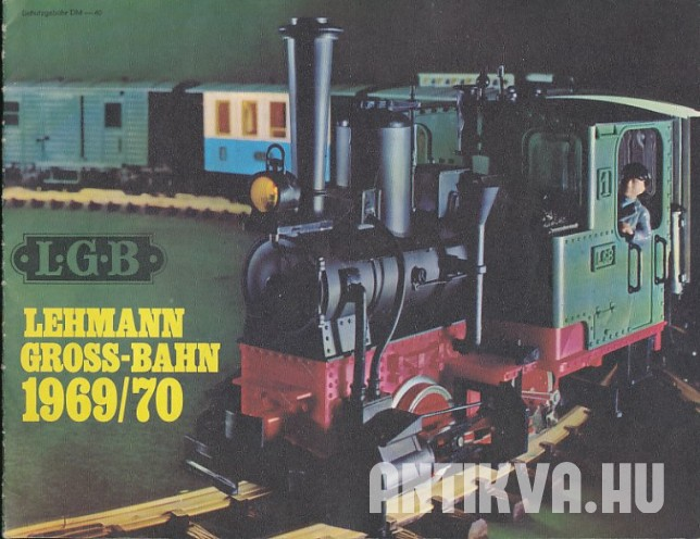 Lehmann Gross-Bahn 1969/70