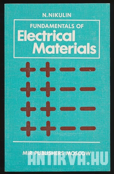 Fundamentals of Electrical Materials