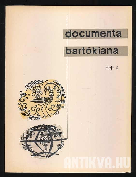 Documenta Bartókiana Heft 4
