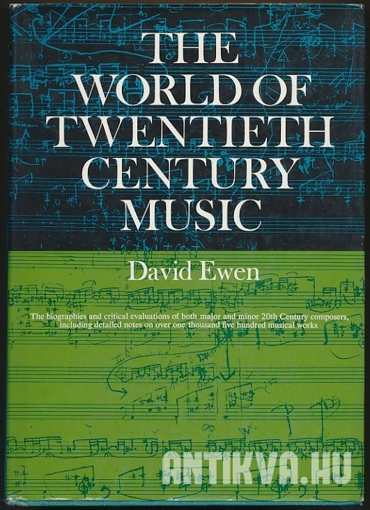 The Word of Twentieth-Century Music