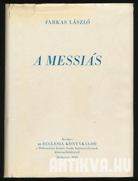 A Messiás I-II. kötet