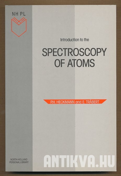 Introduction to the Spectroscopy of Atoms