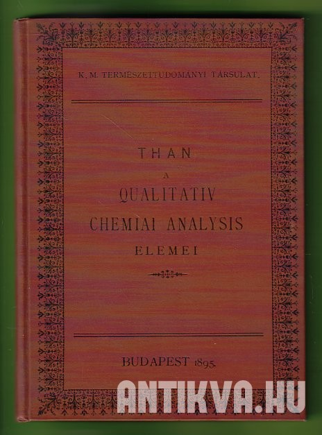 A qualitativ chemiai analysis elemei