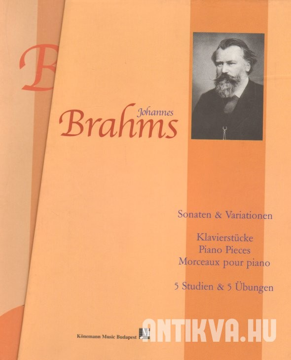 Johannes Brahms Piano Solo Complet Edition I-III.