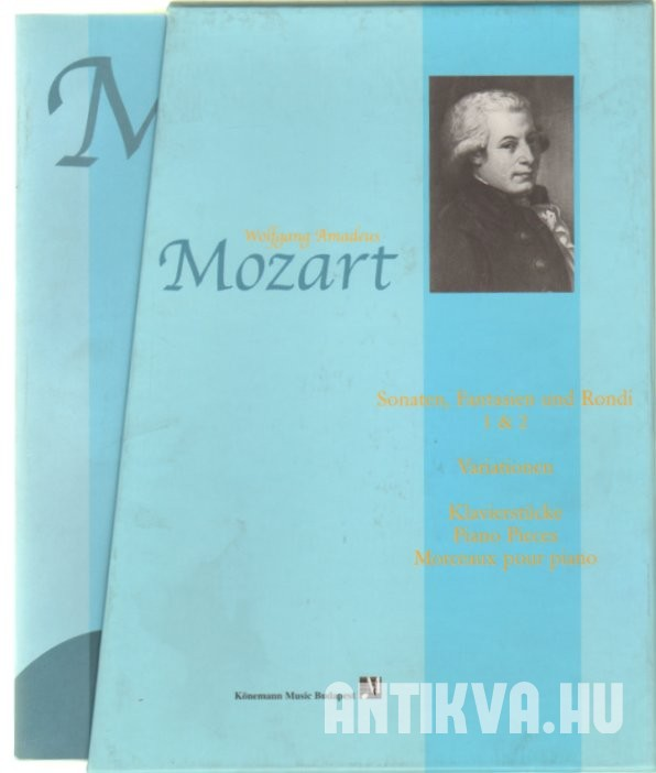 Wolfgang Amadeus Mozart Piano Solo Complet Edition I-IV.