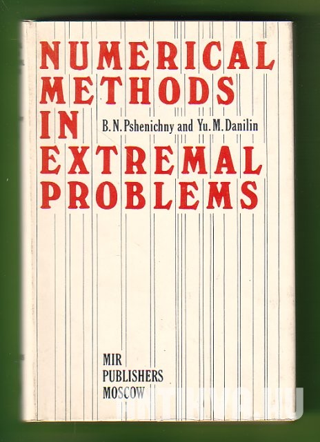 Numerical Methods in Extremal Problems