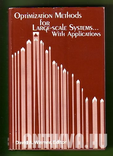Optimization Methods for Large-Scale Systems