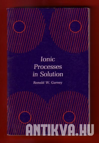 Ionic Processes in Solution