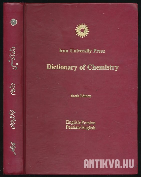 Dictiorary of Chemistry
