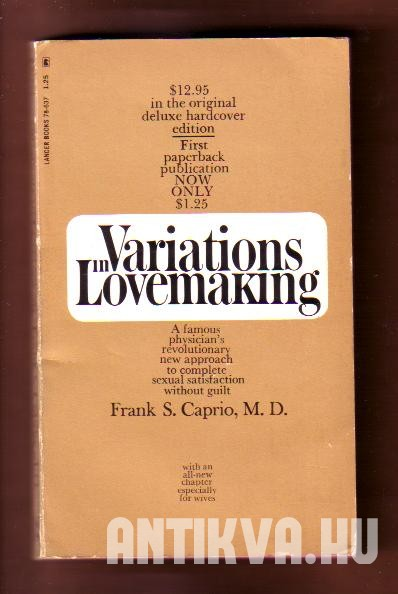 Variations in Lovemaking