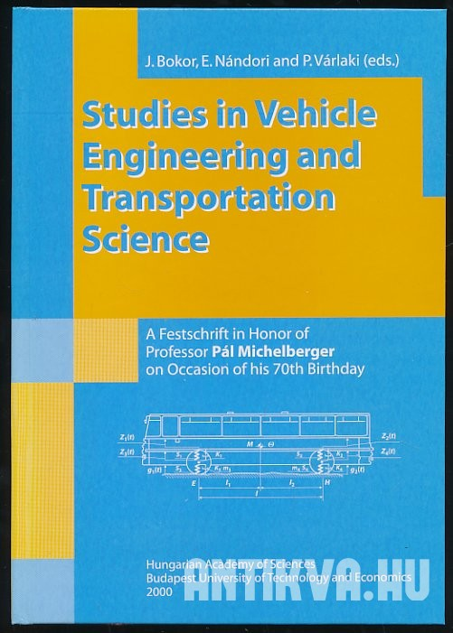 Studies in Vehicle Engineering and Transportation Science