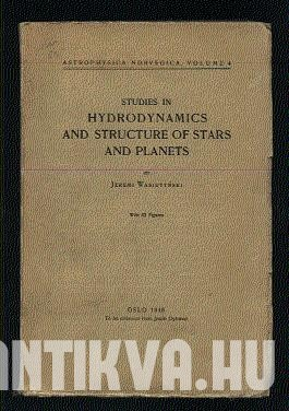 Studies in Hydrodynamics and Structure of Stars and Planets