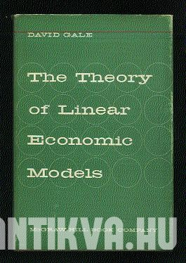 The Theory of Linear Economic Models.