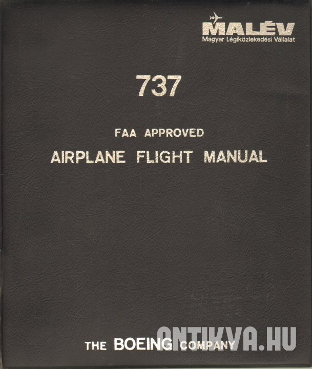 737 FAA Approved. Airplane Flight Manual