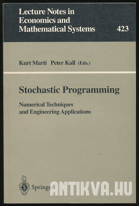 Stochastic Programming. Numerical Techniques and Engineering Applications