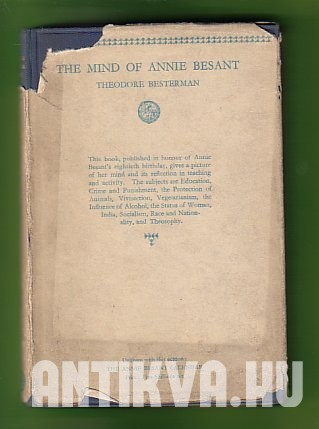 The Mind of Annie Besant