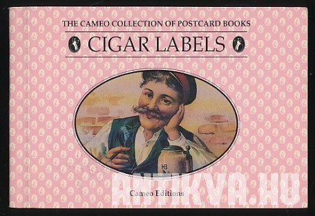 Cigar Labels. Book of 30 Postcards