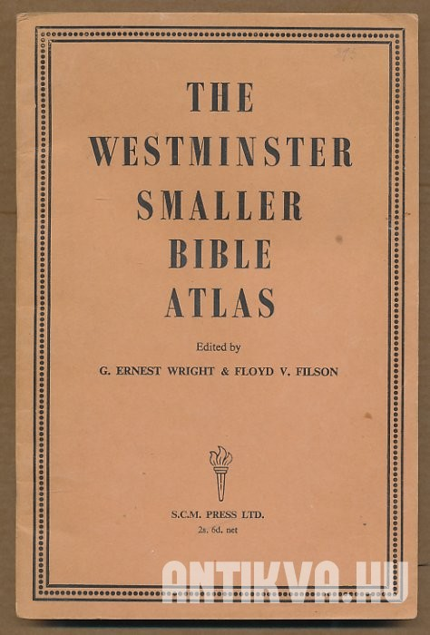 The Westminster Smaller Bible Atlas