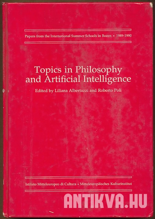 Topics in Philosophy and Artificial Intelligence