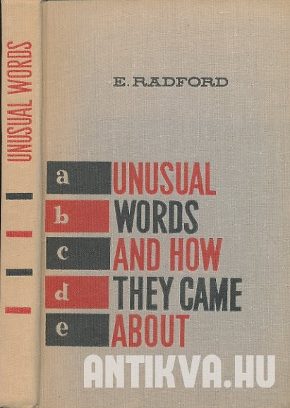 Unusual Words and How They Came About