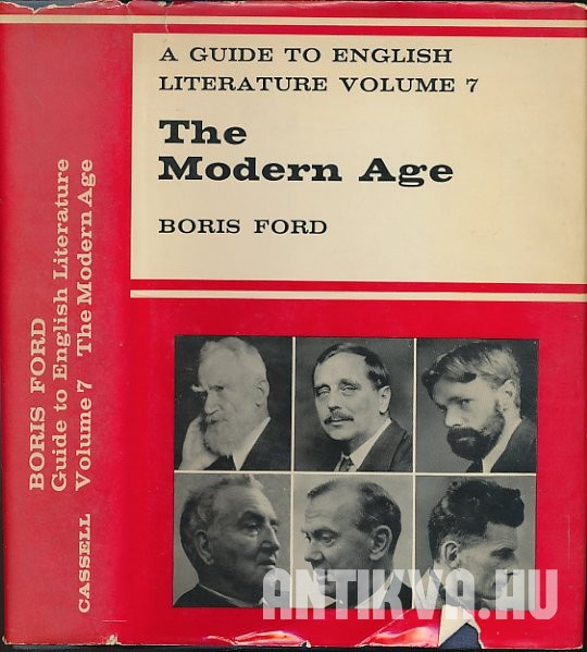 The Modern Age. A Guide to English Literature