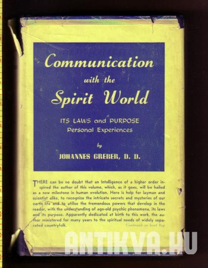 Communication with the Spirit World