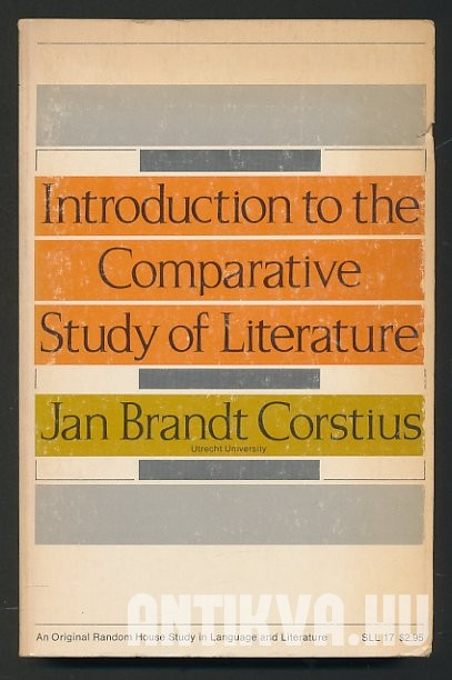 Introduction to the Comparative Study of Literature