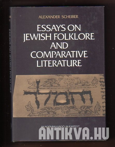Essays on Jewish Folklore and Comparative Literature