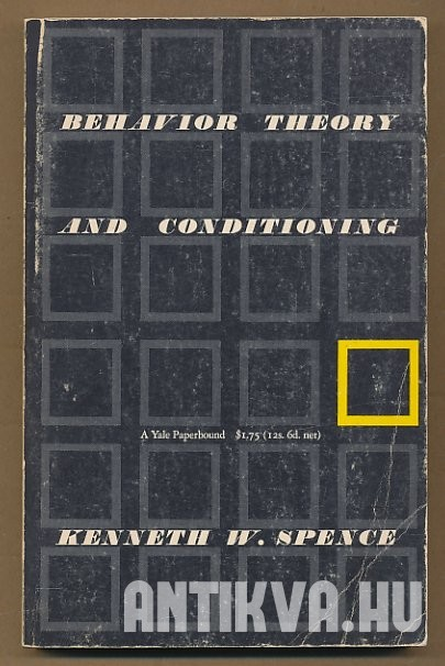 Behavior Theory and Conditioning