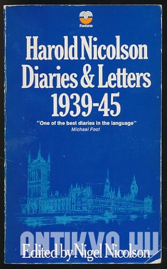 Diaries and Letters 1939-45