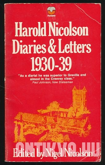 Diaries and Letters 1930-39