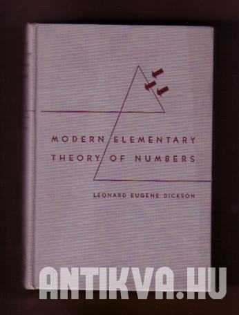 Modern Elementary Theory of Numbers