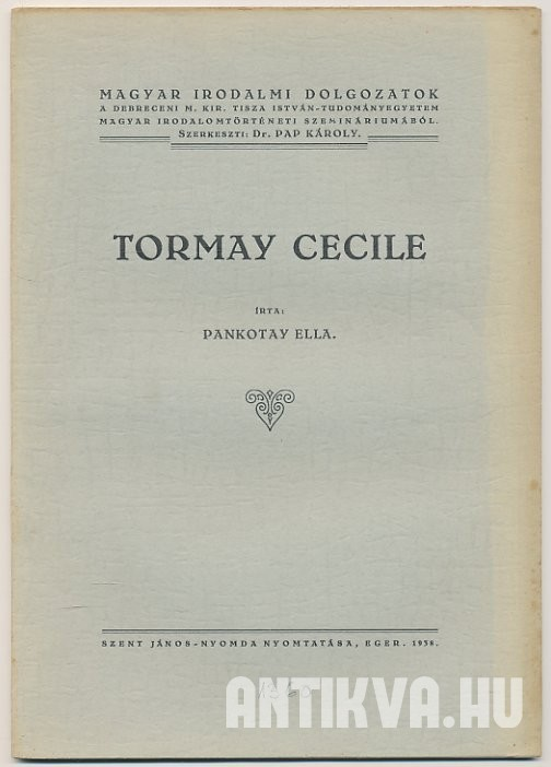 Tormay Cecile