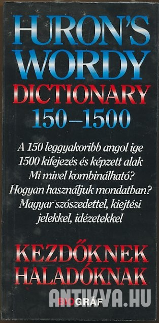 Huron's Wordy Dictionary